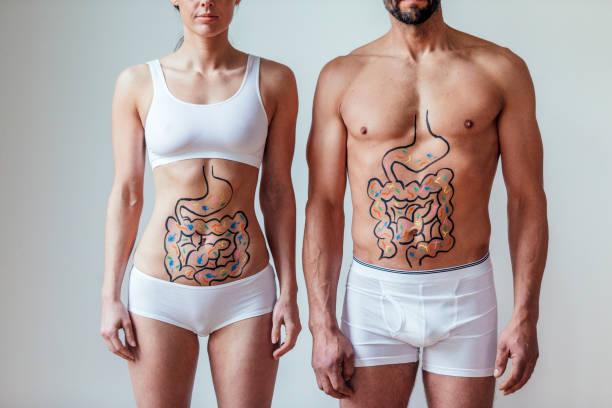 hombre y mujer candidiasis intestinal cómo saber