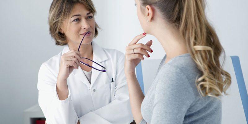 chequeo médico para tratar la candidiasis