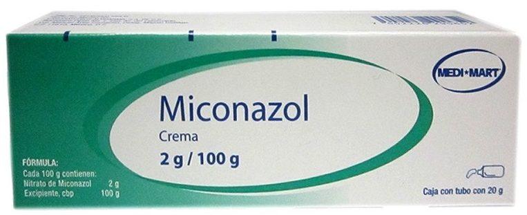 crema candidiasis miconazol