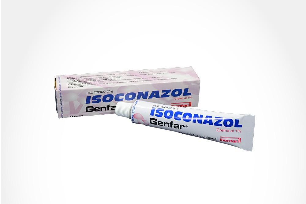 crema candidiasis isoconazol