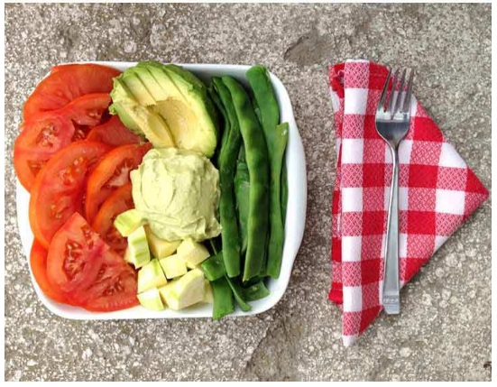 dieta candidiasis ensalada preparación