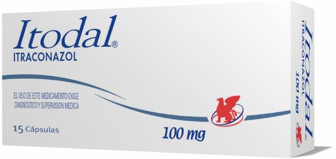 itraconazol candidiasis 100 mg